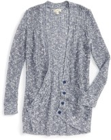 Tucker + Tate Girl's Long Cardigan