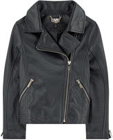 Karl Lagerfeld Mini Me leather biker jacket