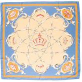 Hermes Crowns Silk Scarf