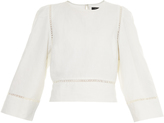 Isabel Marant Rodwell puff-sleeved top