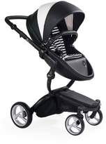 Infant Mima Xari Black Chassis Stroller With Reversible Reclining Seat & Carrycot