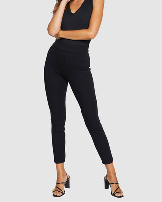 Spanx Women's Black Pants - The Perfect Black Pants, Ankle 4-Pocket - Size One Size, S at The Iconic