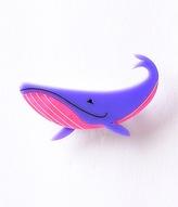 Erstwilder Purple & Pink Big Blue Whale Resin Brooch