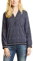 Cecil Women's Scribbled Print Blouse