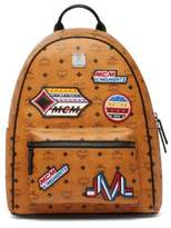 MCM Patchwork Coated Canvas Backpack