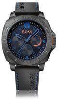Hugo Boss 1513242 Chronograph Silicone Strap 3-Hand Quartz Watch One Size Assorted-Pre-Pack