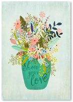 Americanflat Show Your Love Print Art, Print Only