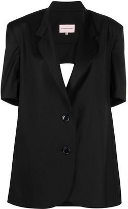 Natasha Zinko Open-Back Jacket