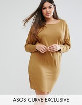 Asos Off Shoulder Batwing Dress