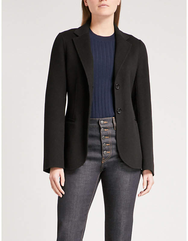 Joseph Archi wool and cashmere-blend jacket