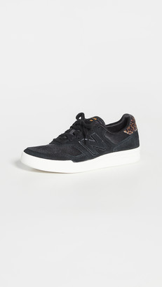 New Balance Black Lace Up Sneakers