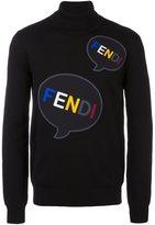 Fendi print jumper