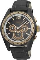 HUGO BOSS 1512517 Black Rubber Band Men's & Women's Watch