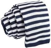 D.berite Striped Men's Party Slim Knit Knitted Neck Tie Necktie