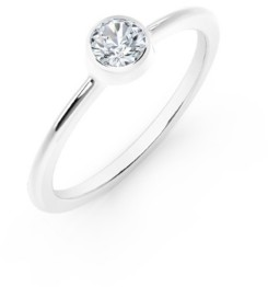 Forevermark Tribute Collection Diamond (1/4 ct. t.w.) Ring in 18k Yellow, White and Rose Gold