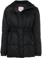 Moncler mid-length hooded coat - women - Polyamide/Goose Down - 0