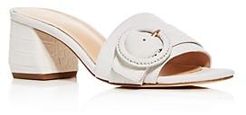 Via Spiga Women's Flor Block-Heel Slide Sandals