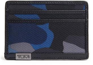 Tumi Alpha Slim Camo Leather Card Case
