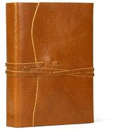 Cavallini NEW Roma Lussa Leather Journal Tan 13x17cm