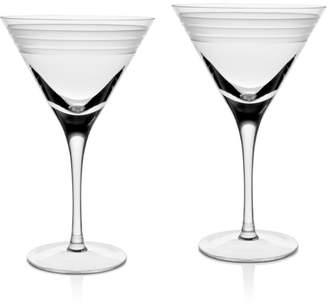 William Yeoward Crystal Madison Martini Glass, Set of 2