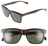 BOSS Men's 53Mm Sunglasses - Dark Havana/ Grey Green