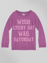 Junk Food Clothing Kids Girls Saturday Sweater-huck-xs