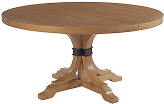 Barclay Butera Magnolia Extension Dining Table - Sandstone Brown