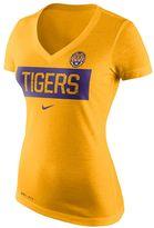 Nike Women's LSU Tigers Tailgate Dri-FIT Tee