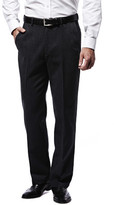 Haggar Heathered Corduroy Pant - Classic Fit, Flat Front, Hidden Expandable Waistband