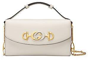 Gucci Women's Zumi Leather Shoulder Bag