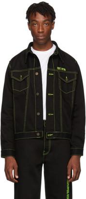 Calvin Klein Jeans Est. 1978 Black Trucker Jacket