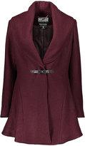 Kensie Merlot Toggle Coat