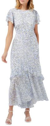 Forever New Josephine Flutter Sleeve Maxi Dress