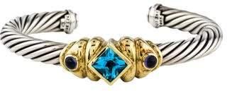 David Yurman Topaz & Iolite Renaissance Bracelet