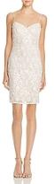 Aidan Mattox Embellished Lace Dress