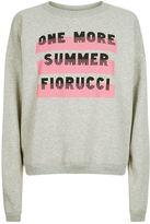 Fiorucci One More Summer Slogan Sweatshirt