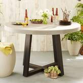 west elm Slab Outdoor Round Dining Table