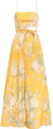 Zimmermann Amelie Scarf Tie Dress