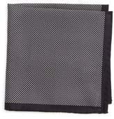 Eton Men's Dot Silk Pocket Square