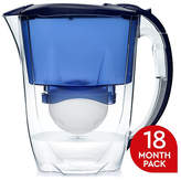 Aqua Optima Oria Blue Jug with Cartridges - 9 Pack