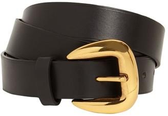 Etro 3cm Asta Leather Belt