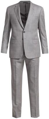 Giorgio Armani Micro Twill Wool Suit