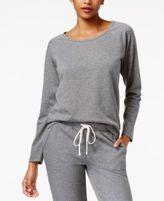 Alfani Back Lace-Panel Pajama Top, Created for Macy's