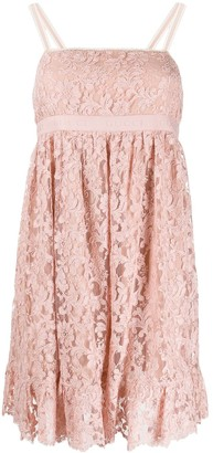 Gucci Floral Lace Short Dress