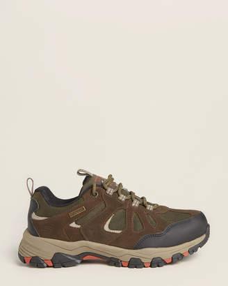 Skechers Brown Relaxed Fit Selmen Revano Hiking Sneakers