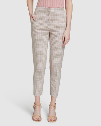 Oxford Charla Eco Check Suit Trousers