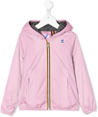 K Way Kids Le Vrai Claude 3.0 rain jacket