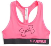 Under Armour Girl's Logo Armour Sports Bra