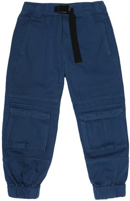 Stella McCartney Kids Cotton cargo pants