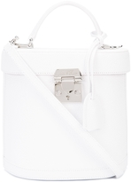 Mark Cross Benchley Pebbled Bag - White